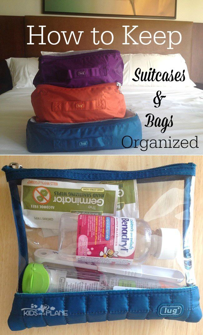 Packing Tips for Organized Suitcases and Bags - KidsOnAPlane.com