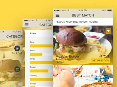 Free iOS Restaurant Finder App