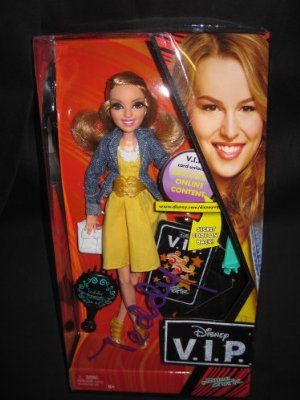 Disney V.I.P. Teddy Duncan Fashion Doll by Mattel. $31.99. Comes with a Disney V.I.P. card that girls can use to access exclusive online content. Dressed in a detailed, trendy fashion that reflects the unique personality and style. Celebrating your favorite characters from the Disney Channel's most popular television shows. Featuring Teddy Duncan from the Disney Channel Original Series, Good Luck Charlie. Includes 1 doll, accessories, V.I.P. access card and do...