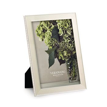 Vera Wang for Wedgwood - With Love Pearl Photo Frame
