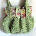 borsa con cintura a fiori
