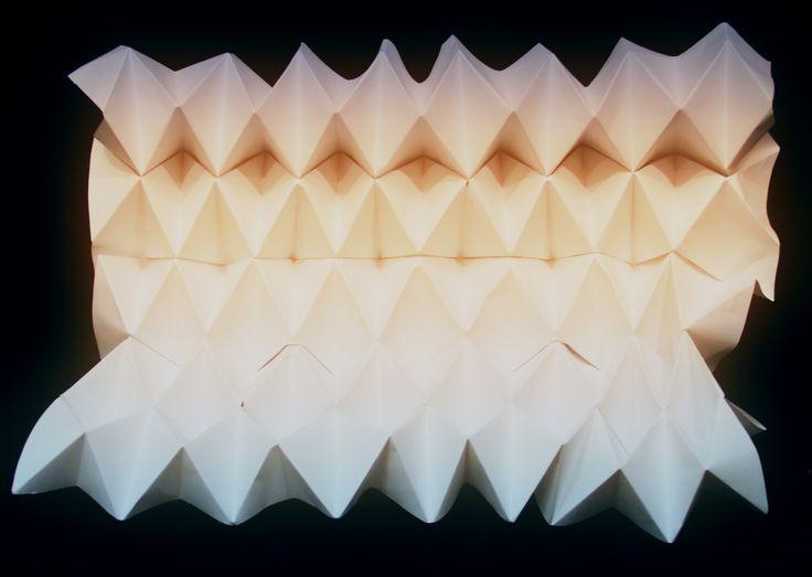 Paul Jackson, folded by Beverley Hodgen