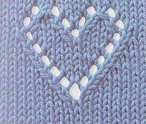 Free Knitting Heart Pattern   Free Crochet Patterns & Free Knitting Patterns Doily Towel Edge Patterns Crochê Lace