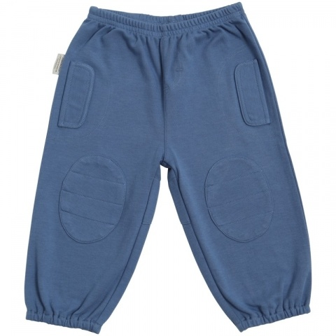 Blue Lifestyle Patch Pants -