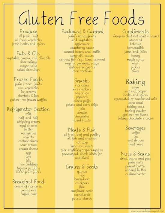 Gluten Free Foods - Click image to find more food & drink Pinterest pins