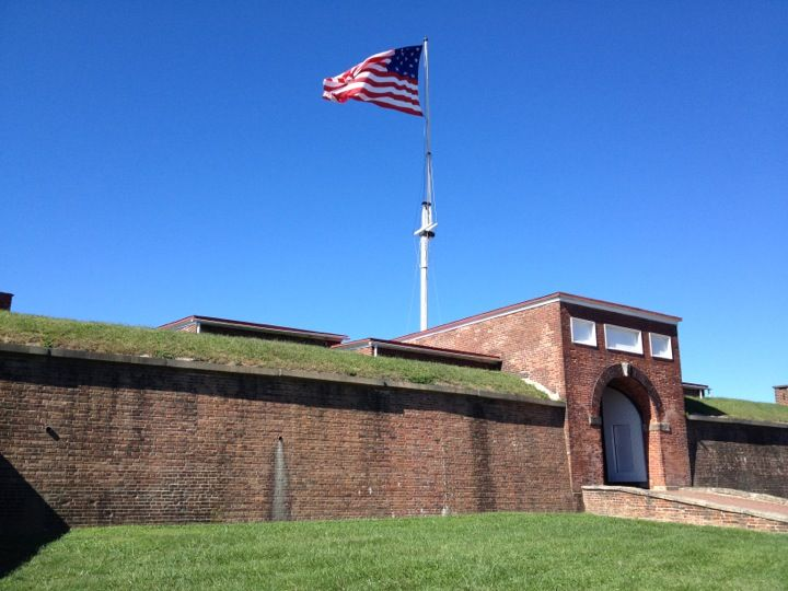 Fort McHenry National Monument and Historic Shrine in Baltimore, MD