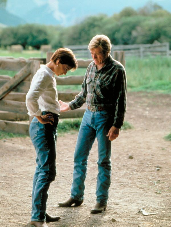 """The Horse Whisperer (1998) - Annie: """"I've heard you help people with horse problems."""" Tom Booker: """"Truth is, I help horses with people problems."""""""