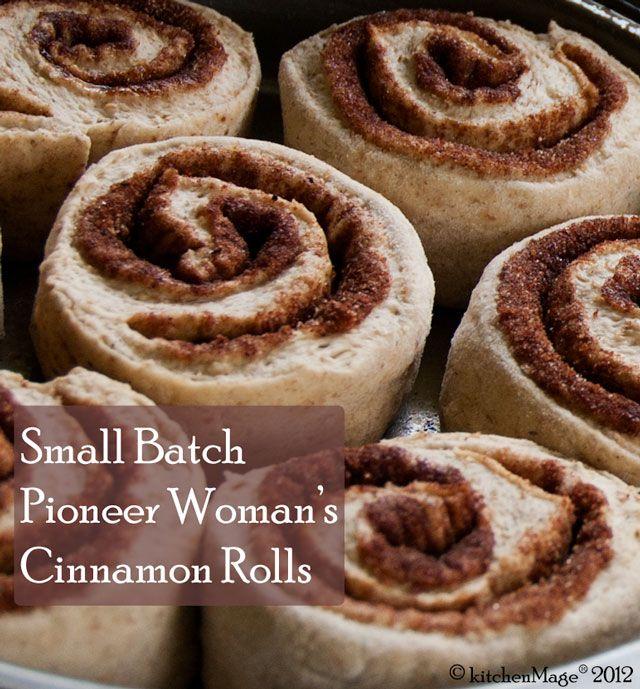 A Dozen of Pioneer Woman's Cinnamon Rolls