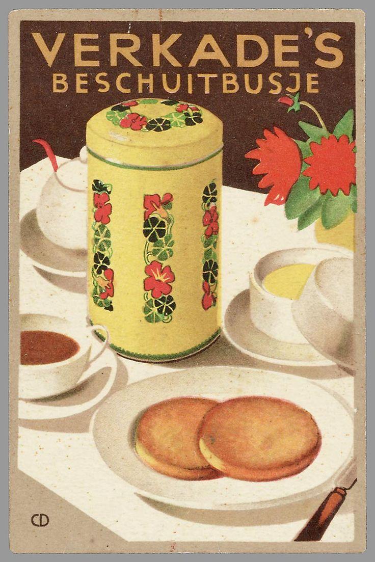 Verkade's beschuitbusje staat bééldig op uw ontbijttafel :)