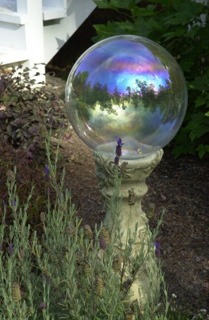 crystal ball | garden ideas and garden art | Pinterest ...