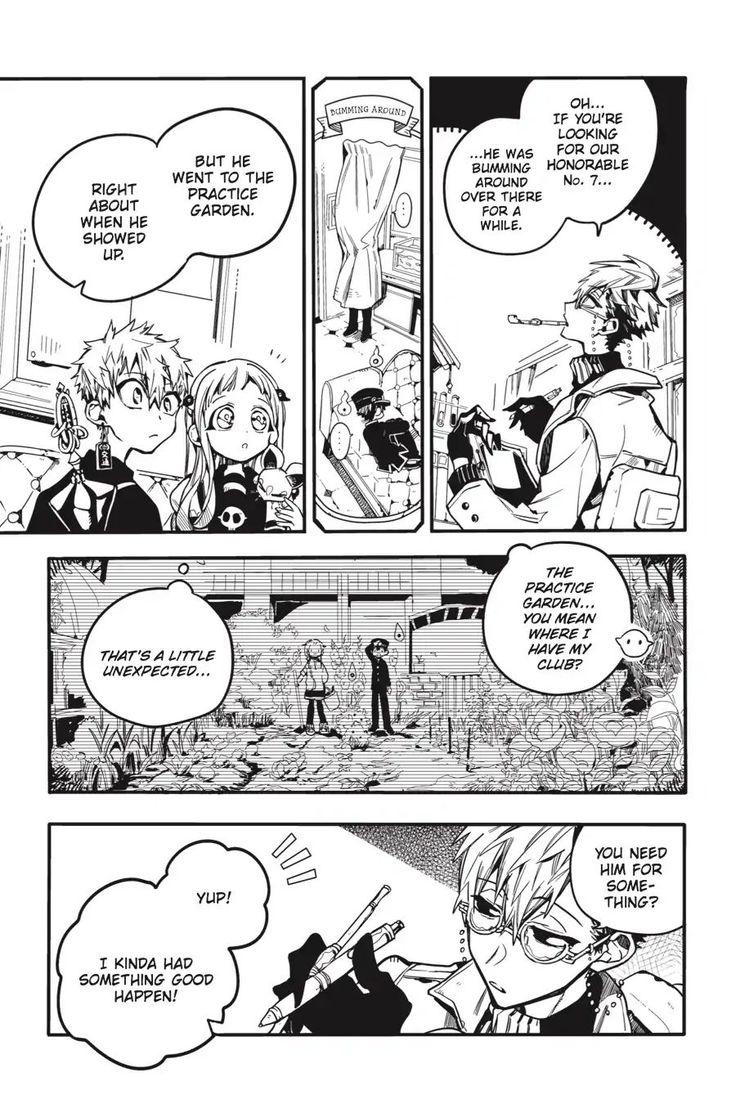 Jibaku Shounen Hanakokun Vol.6 Chapter 28 page 15