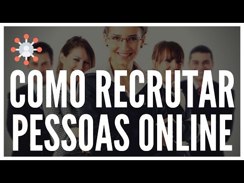 Como Recrutar Pessoas Pela Internet Em Modo Automático Marketing Multinível - YouTube