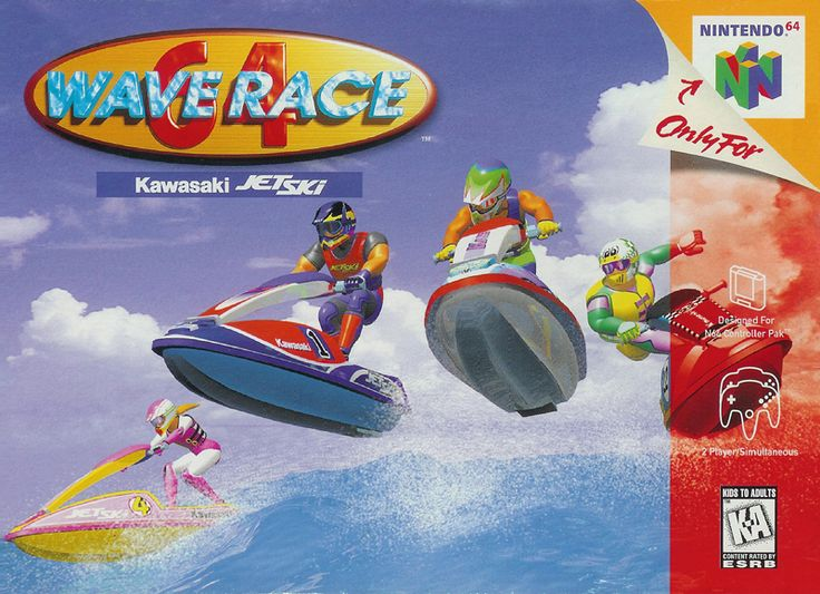 Wave Race 64 Nintendo 64 Cover