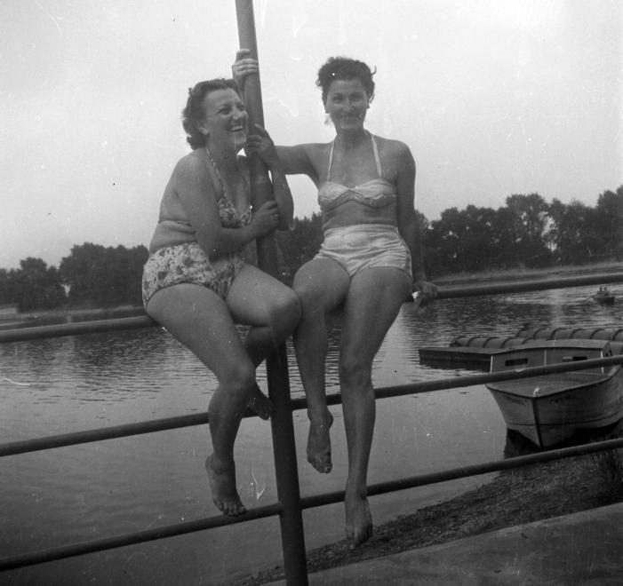 Lágymányosi öböl, Kopaszi gát. 1953