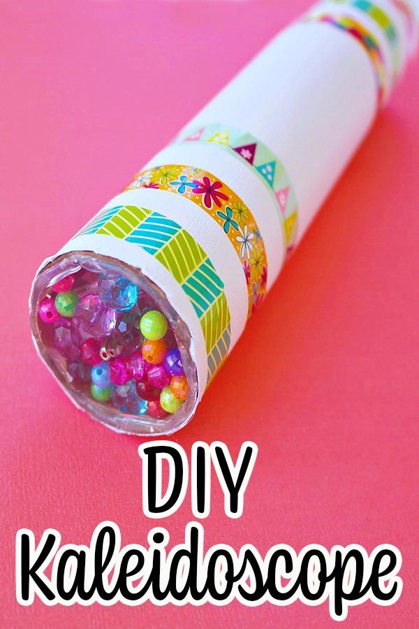 Fun Diy Kaleidoscope Kids Craft In 2020 Fun Projects For Kids