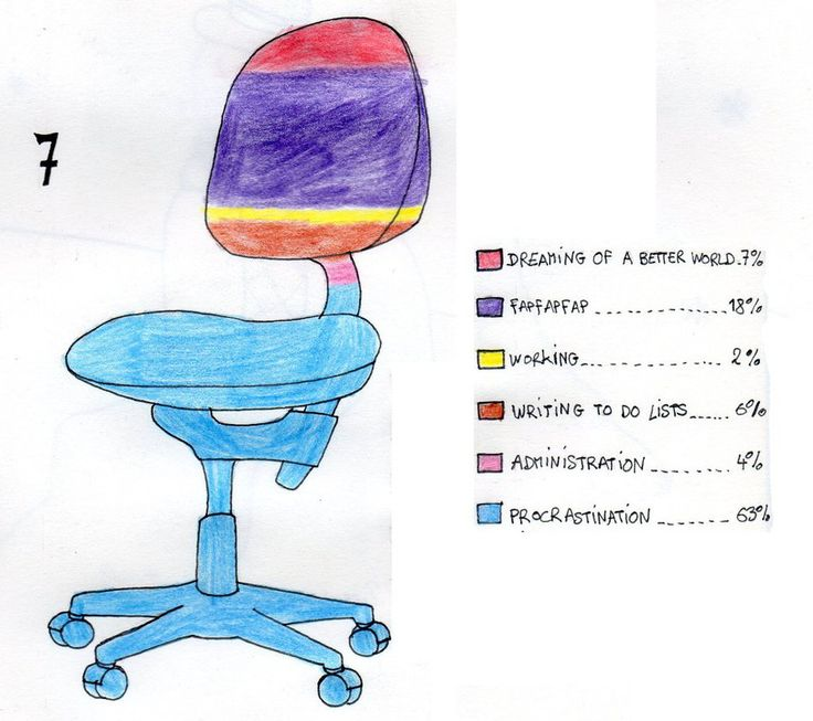 7 - Working Chair by Dz-Drawing