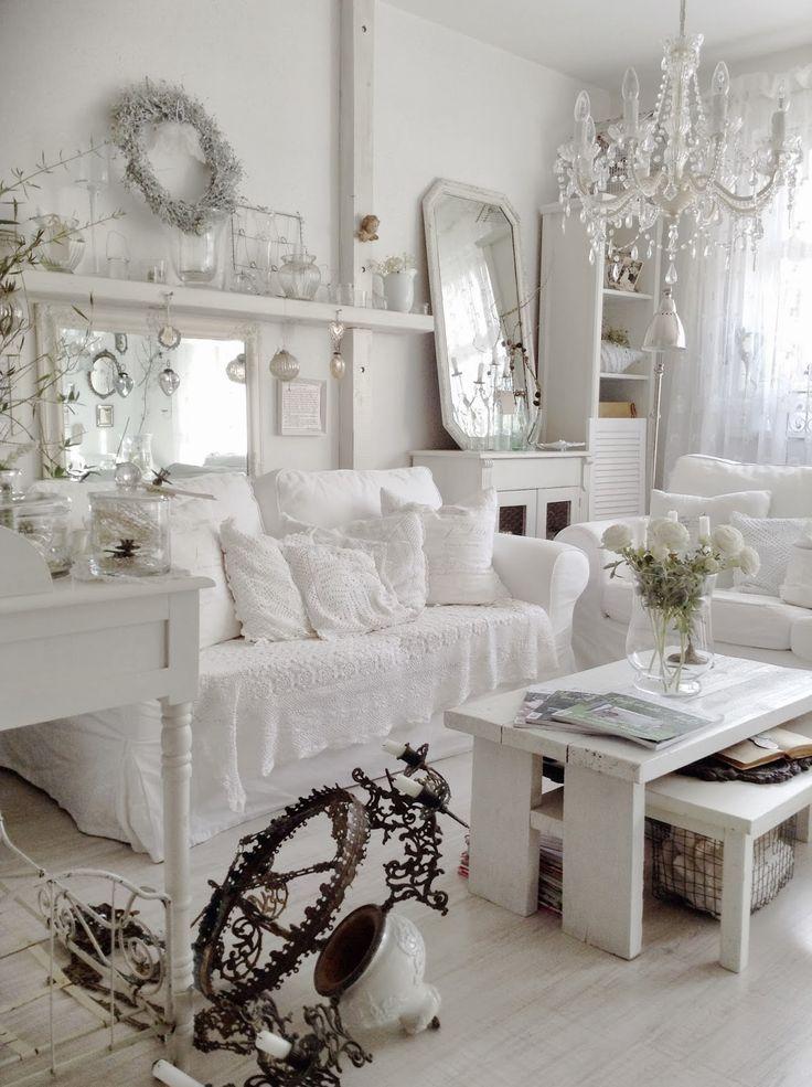 die 25+ besten shabby chick ideen auf pinterest - Wohnzimmer Romantisch