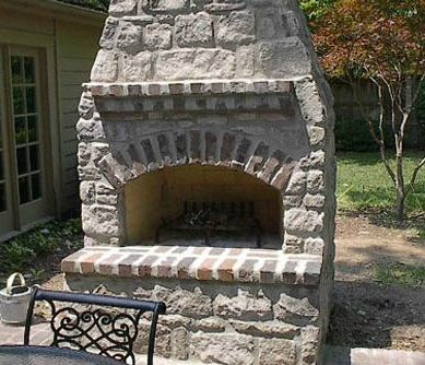 Outdoor Fireplace Kits For The DIYer  Fireplace Kits Outdoor