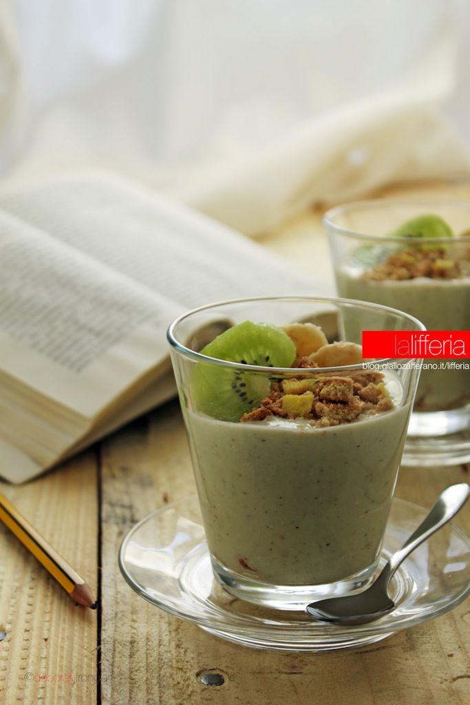 Dessert alla banana e kiwi senza cottura