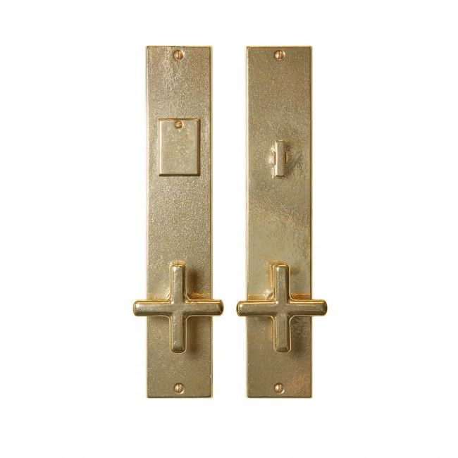 Metro Entry Set - 3 x Entry Thumblatch Mortise Lock