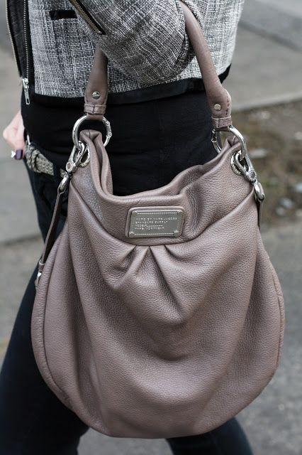 Marc Jacobs Classic Hillier Hobo handbag.
