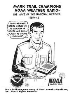 Best notification when severe storms are coming? NOAA Weather Radio. Buy them for your home and business May 25-31 and pay NO sales tax in Virginia! www.nws.noaa.gov/nwr