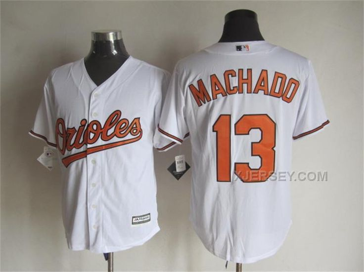 11c2ab30ded ... wholesale baltimore orioles jersey 13 manny machado home white 2015 mlb  cool base jerseys . 85026