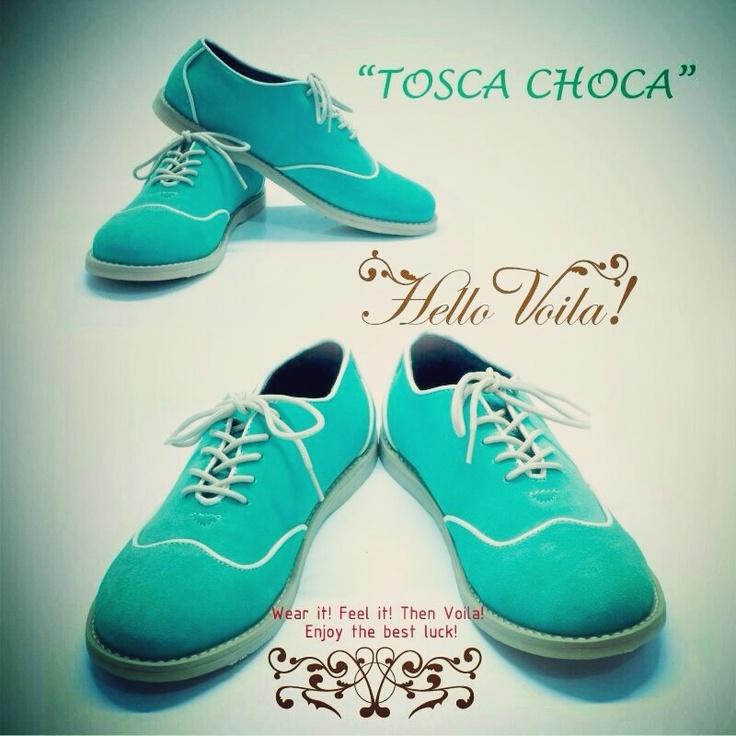 tosca choca  #oxfords #vintage #handmade #fashion #colorful #tosca
