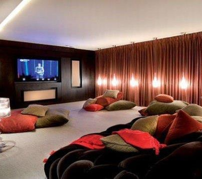 Ideas For Home Theater Rooms