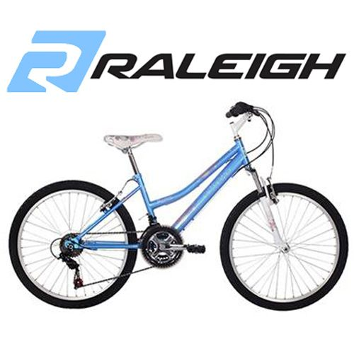24 inch Girls Mountain Bike Blue