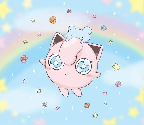Jigglypuff! That would be SUCH a cute design on a shirt!!