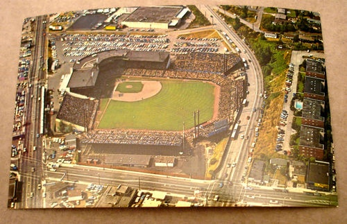 The Seattle Pilots Stadium.....Sicks Stadium now a Loews Home Improvement hardware store.