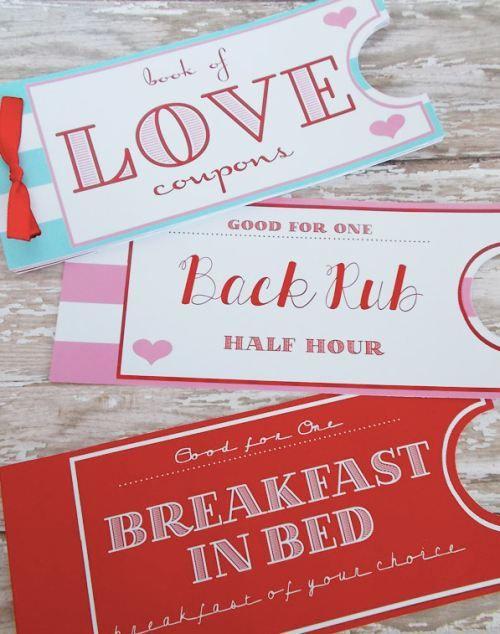 Printable Love Coupon Book [SOURCE]