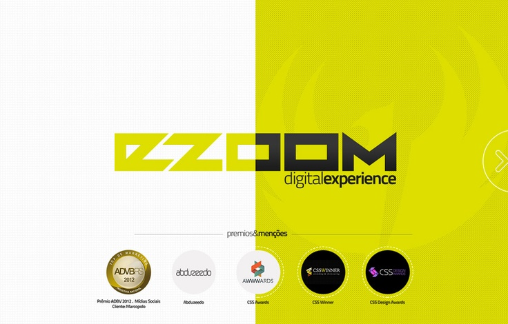 Ezoom Digital Experience - Creative page transition and animation
