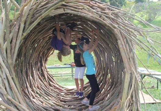 Los increíbles nidos a gran escala de Jayson Fann: inspirados por las aves…