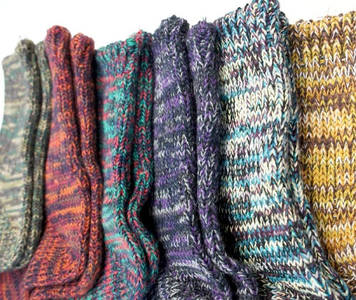 winter socks by anonymousism