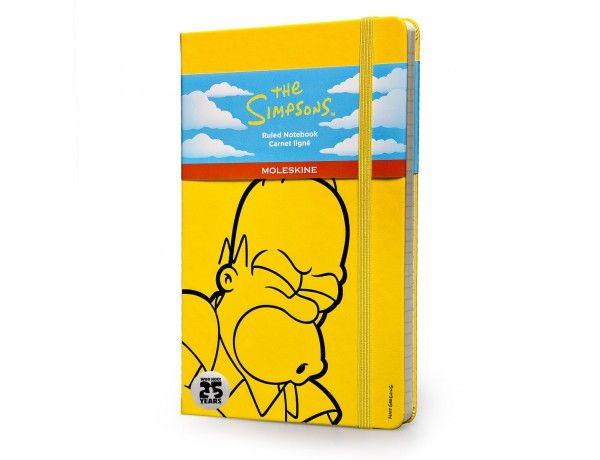 Moleskine + Homer : perfect match !