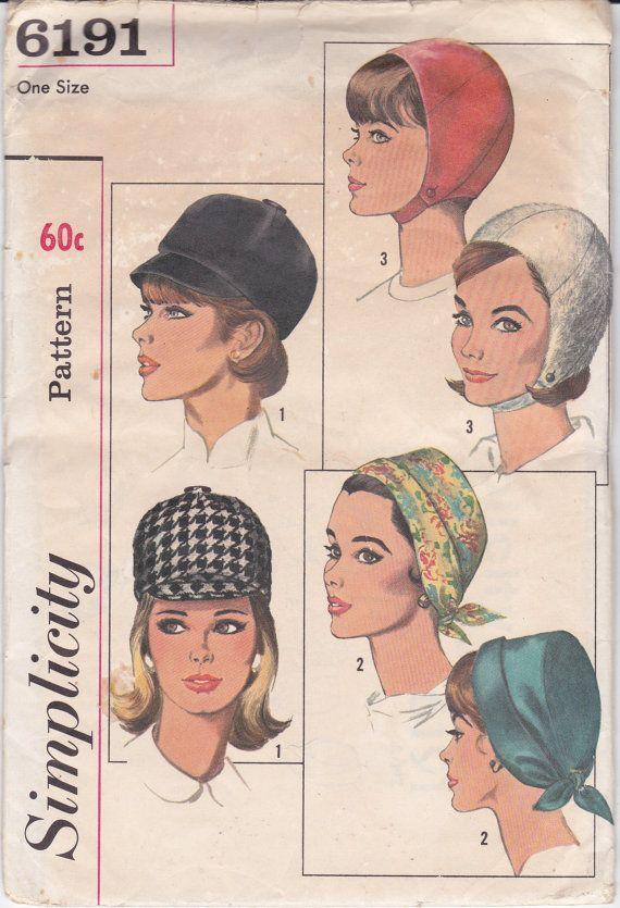 60s Vintage Sewing Pattern Womens Riding by allthepreciousthings,