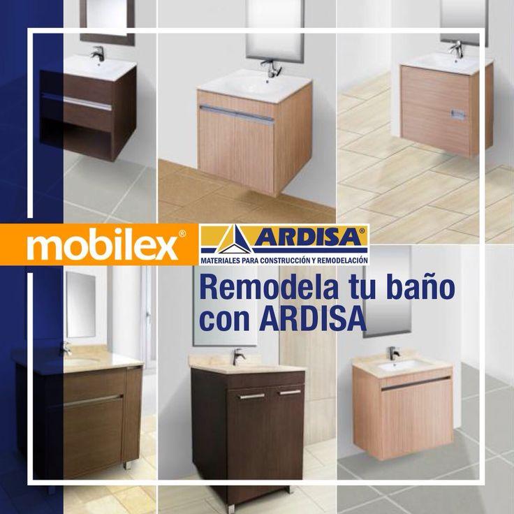 Nuestra nueva colección de muebles de baño destinos, tiene diferentes opciones que puedes elegir a un precio que solo #Mobilex te puede dar.