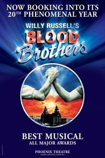 I knew nothing about Blood Brothers before I went to see it and was so engaged with the characters that I was sobbing uncontrollably at the end. Great piece of musical theatre.