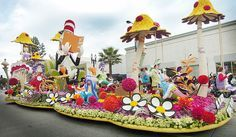 "Kaiser Permanente, float in the 124th Rose Parade, ""Oh, the Places You'll Go!.(SGVN/Photo by Walt Mancini/SXCity)"