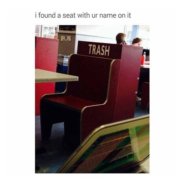 a seat just for me?!