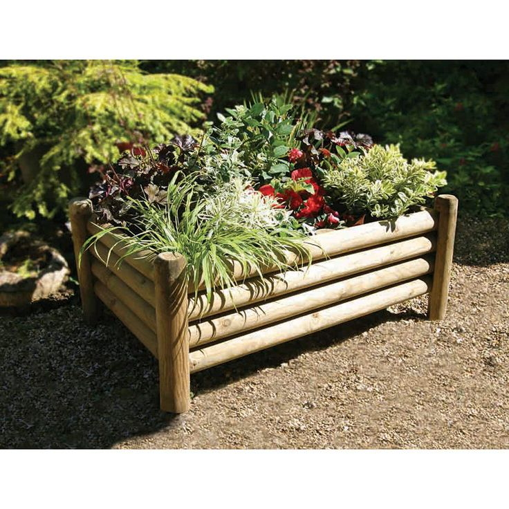 Keep your garden looking tip-top and tidy - pressure treated timber