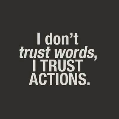 Trust needs to be earned, not given away. #quotes #trust #life #respect