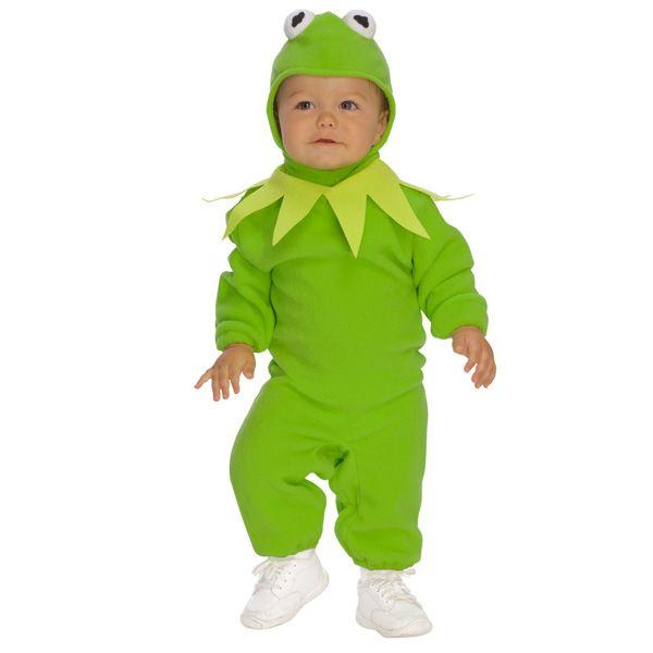 Verkleedkleren | Muppets Kermit de kikker kostuum baby | Kermit pak