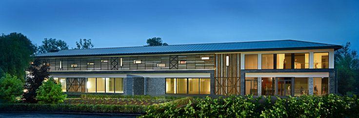 Medicalpark&Riverside Spa design by Andrew Ludew Architect