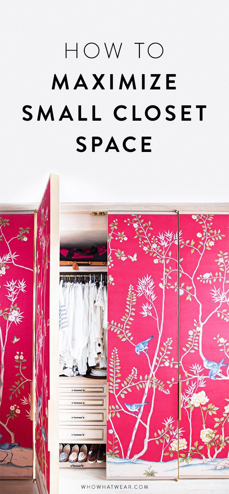 best 25  small closet space ideas on pinterest