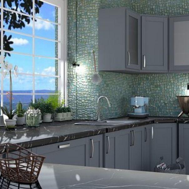 Kuchnia W Stylu Marynistycznym New Countertops Kitchen Home