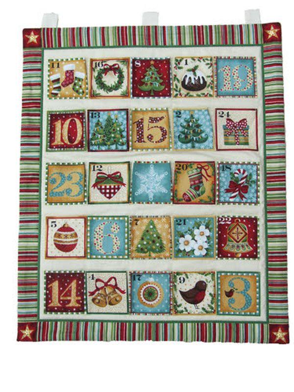 Yuletide Fabric Advent Calendar