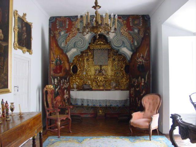 Oratorio del palacio del Marqués de Cerverales.